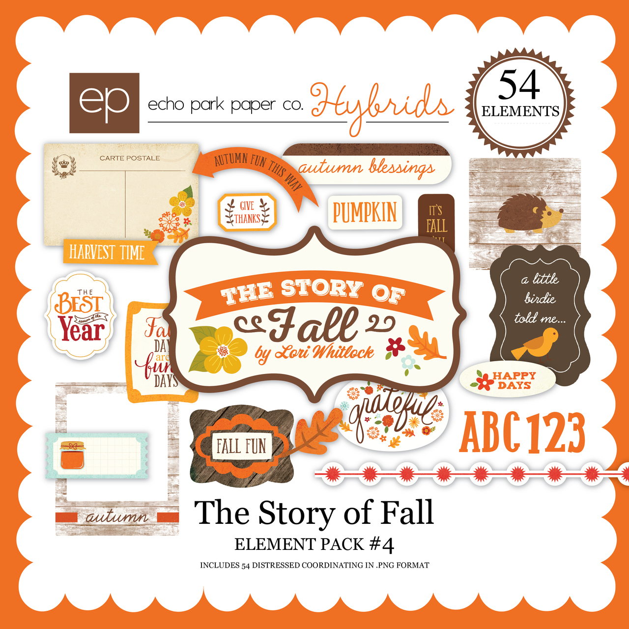 The Story of Fall Element Pack 4