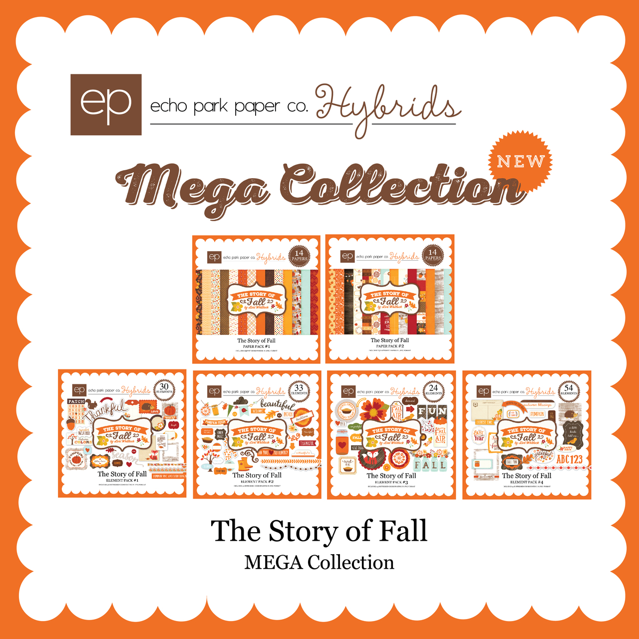 The Story of Fall Mega Collection