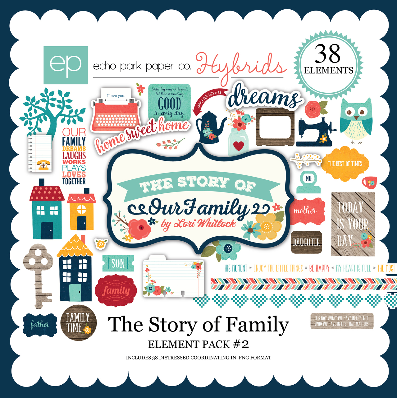 The Story of Family Element Pack 2