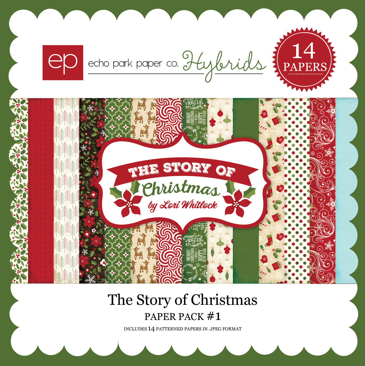 The Story of Christmas Paper Pack 1