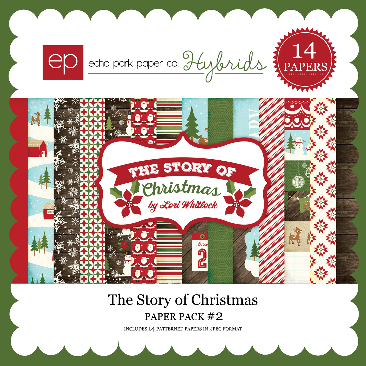 The Story of Christmas Paper Pack 2