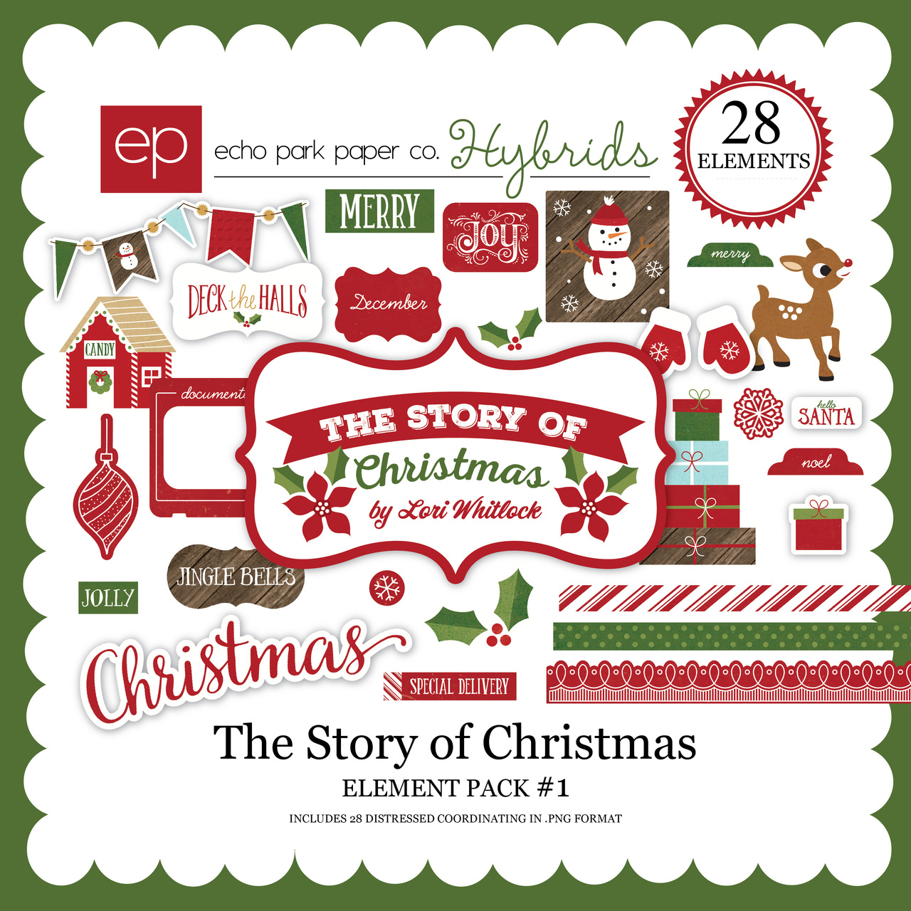The Story of Christmas Element Pack 1