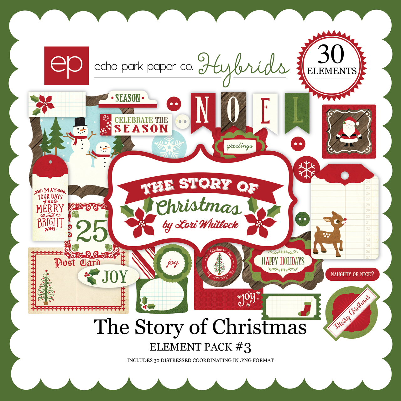 The Story of Christmas Element Pack 3