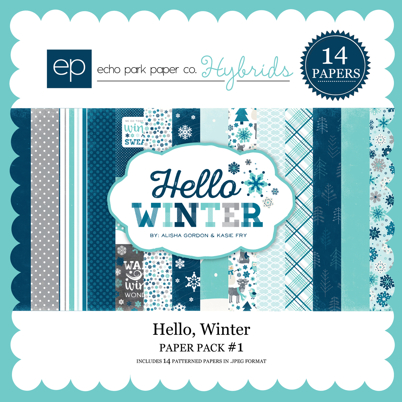 Hello Winter Paper Pack 1