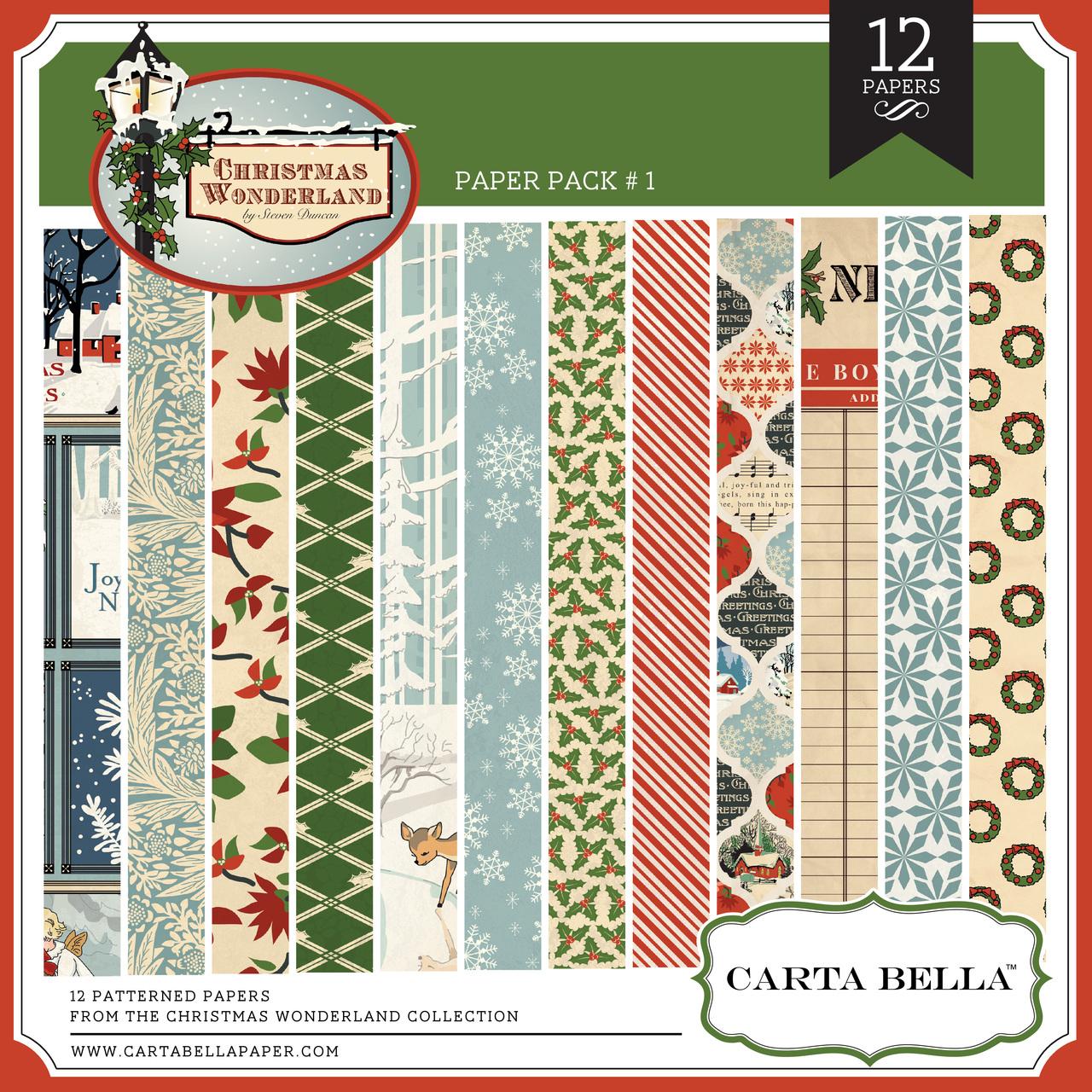 Christmas Wonderland Paper Pack 1