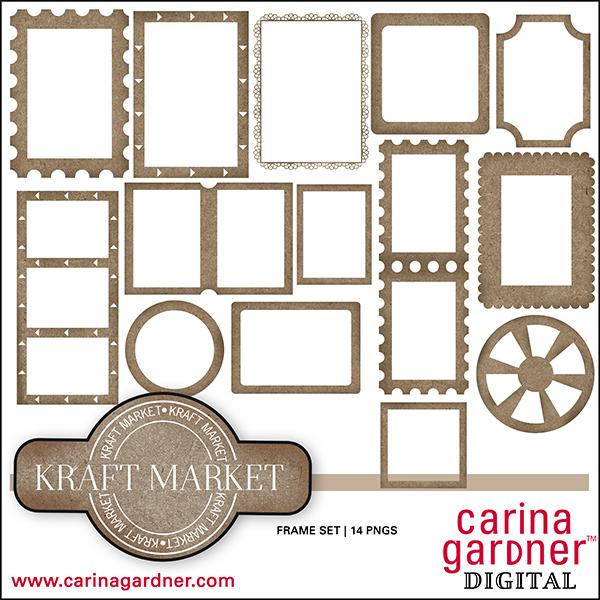 Kraft Market Frame Set