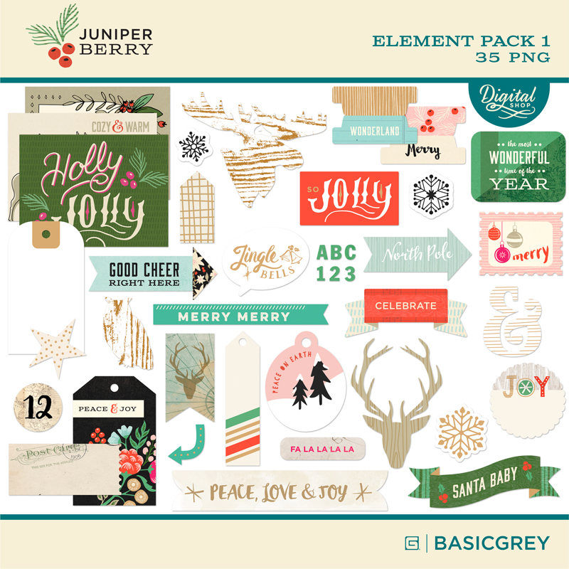 Juniper Berry Element Pack 1