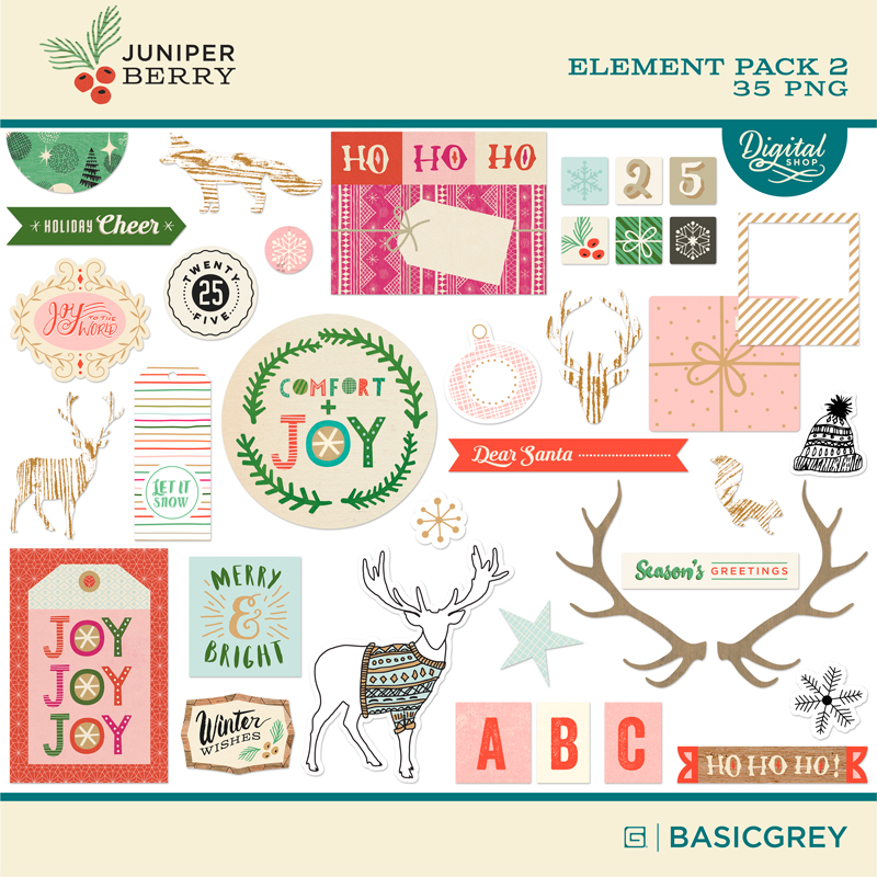 Juniper Berry Element Pack 2
