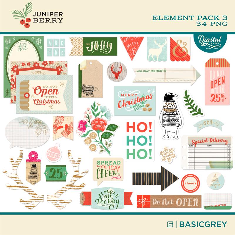Juniper Berry Element Pack 3