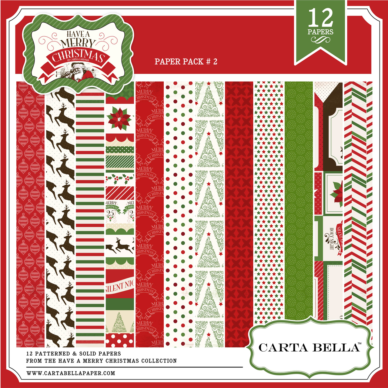 Have A Merry Christmas Paper Pack 2