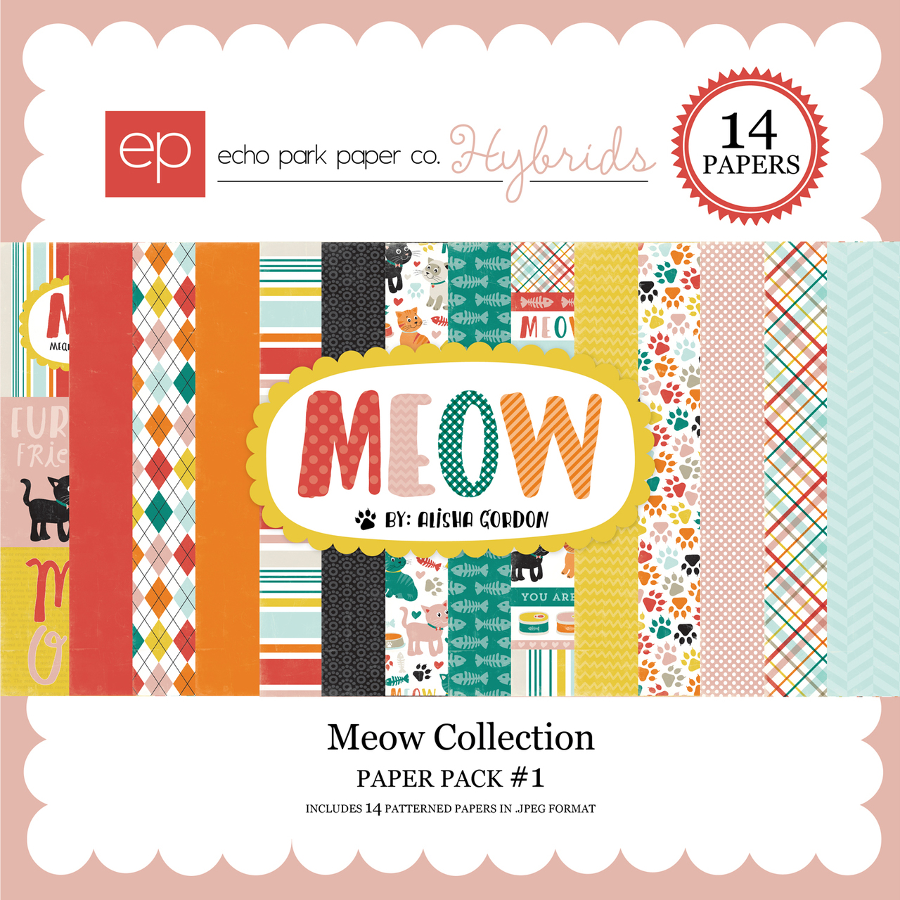 Meow Paper Pack 1