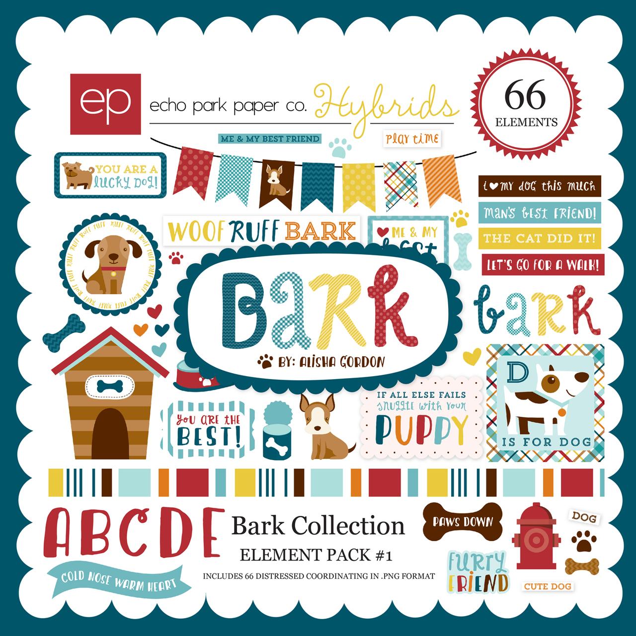 Bark Element Pack 1