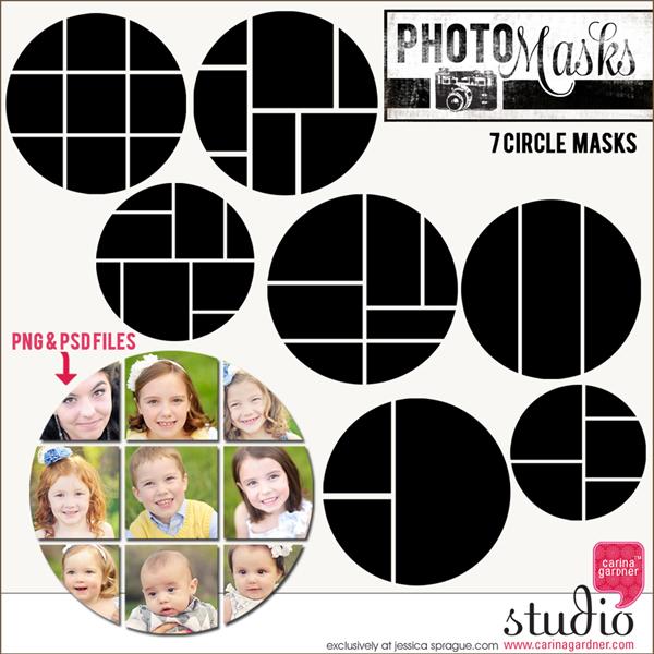 PHOTO MASKS Circles