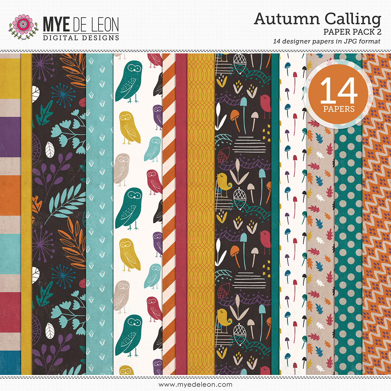 Autumn Calling | Paper Pack 2