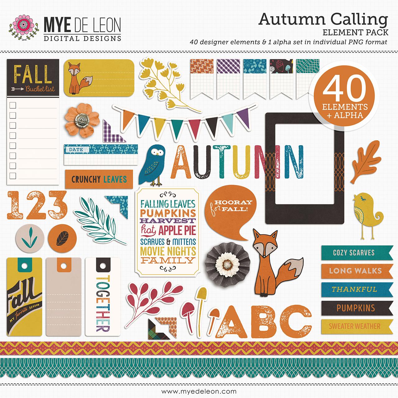 Autumn Calling | Element Pack