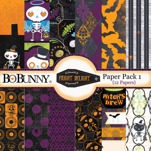 Fright Delight Paper Pack 1