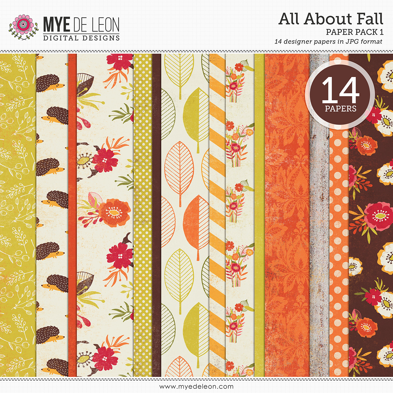 All About Fall | Paper Pack 1