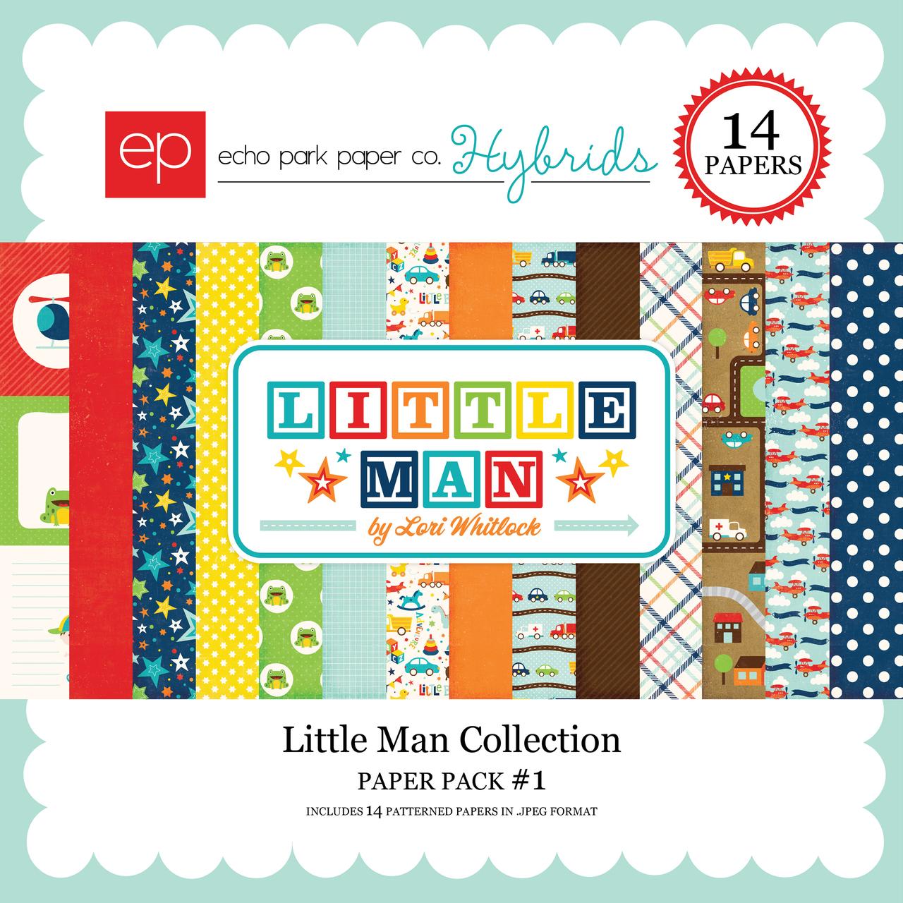 Little Man Paper Pack 1