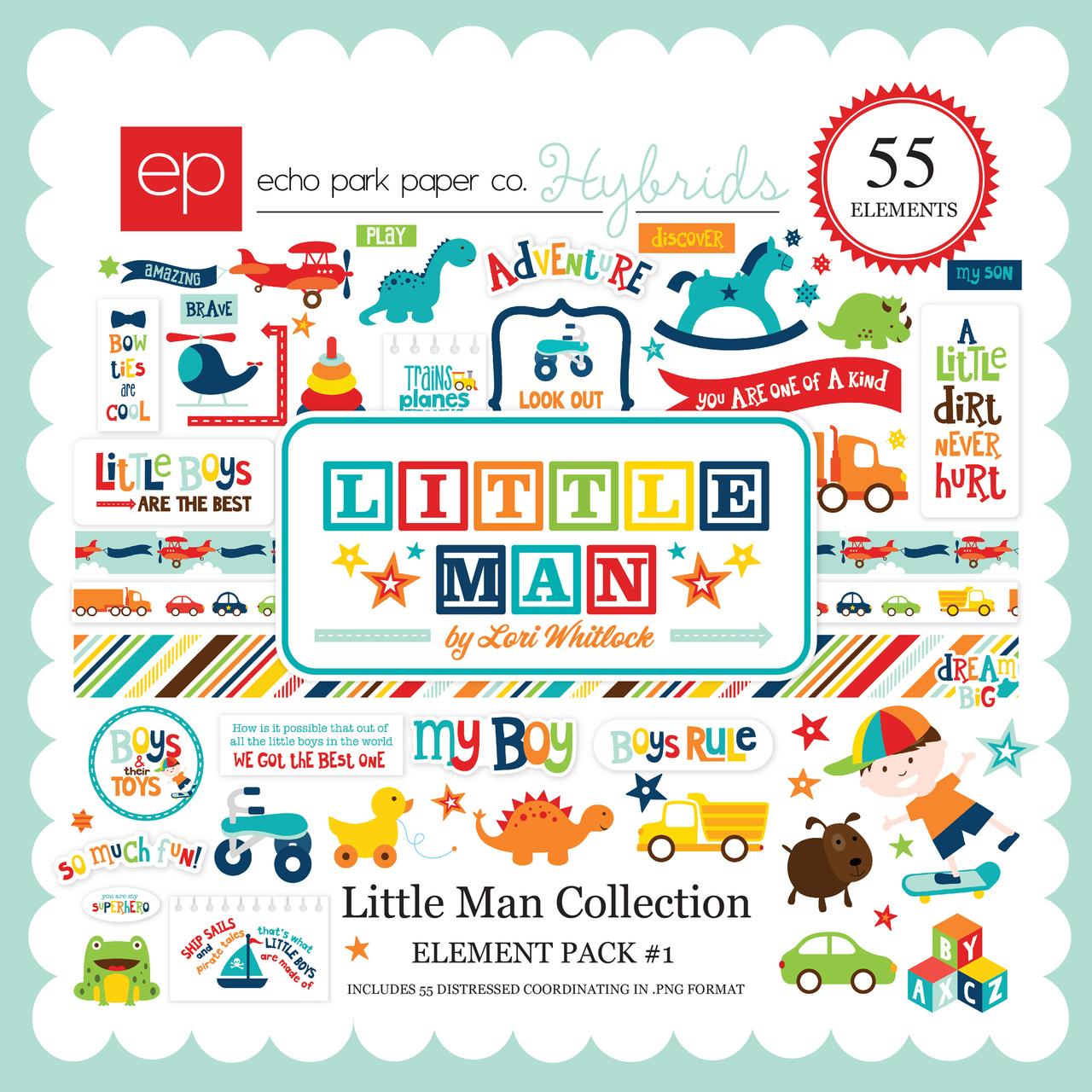 Little Man Element Pack 1