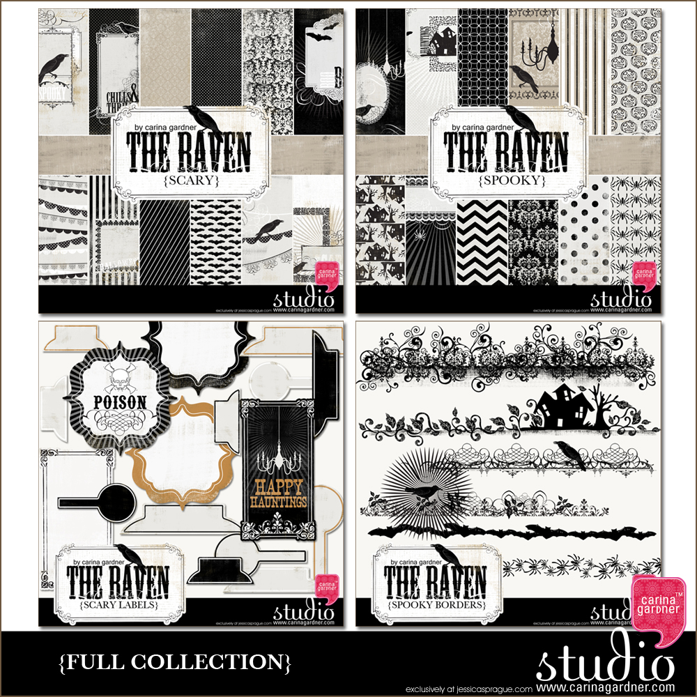 THE RAVEN Mega Collection