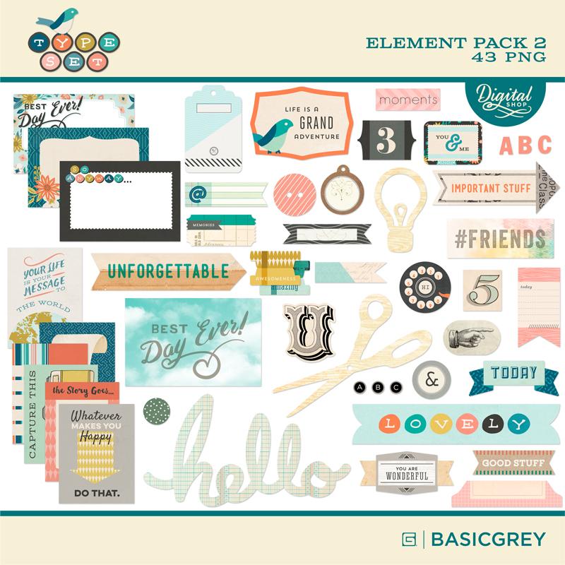Typeset Element Pack 2
