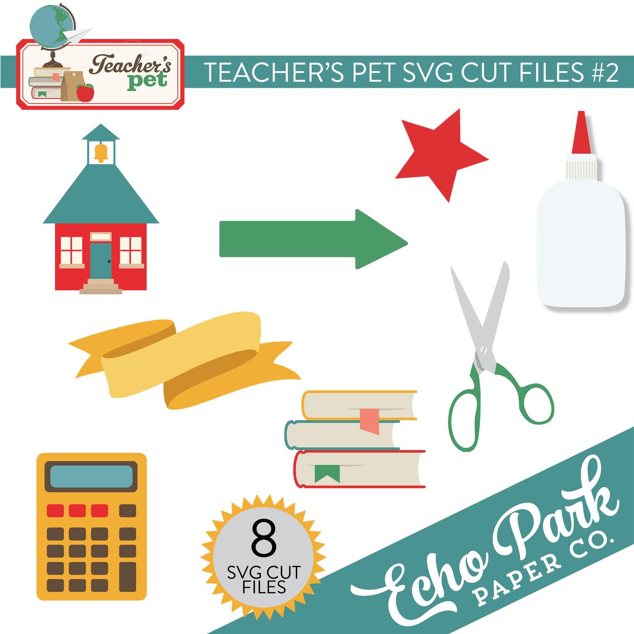 Teacher's Pet SVG Cut File #2