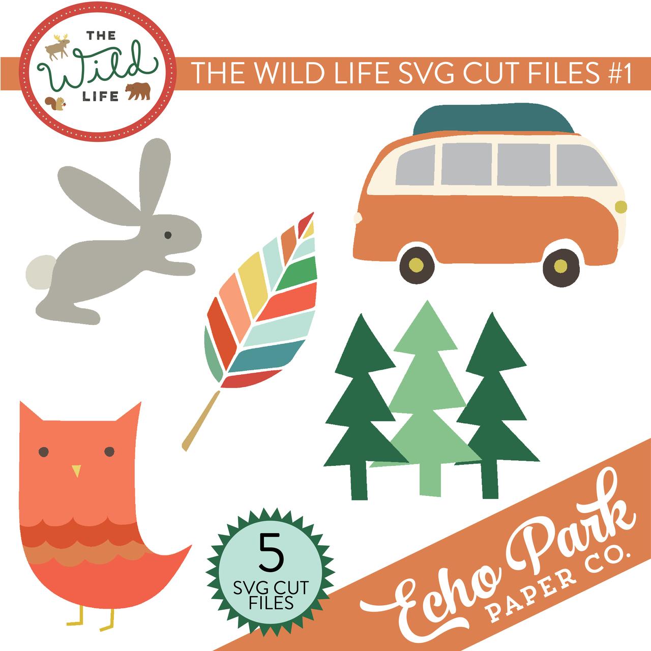 The Wild Life SVG Cut Files #1