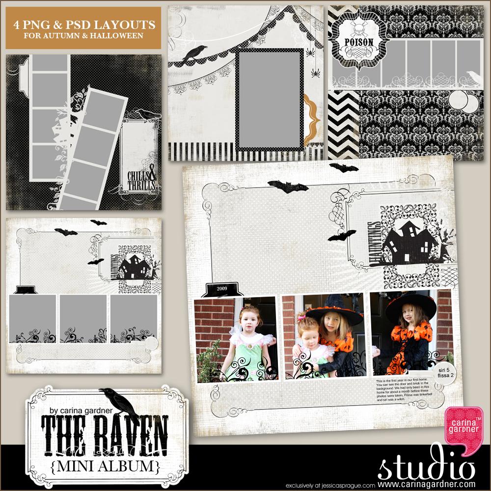 THE RAVEN Mini Album