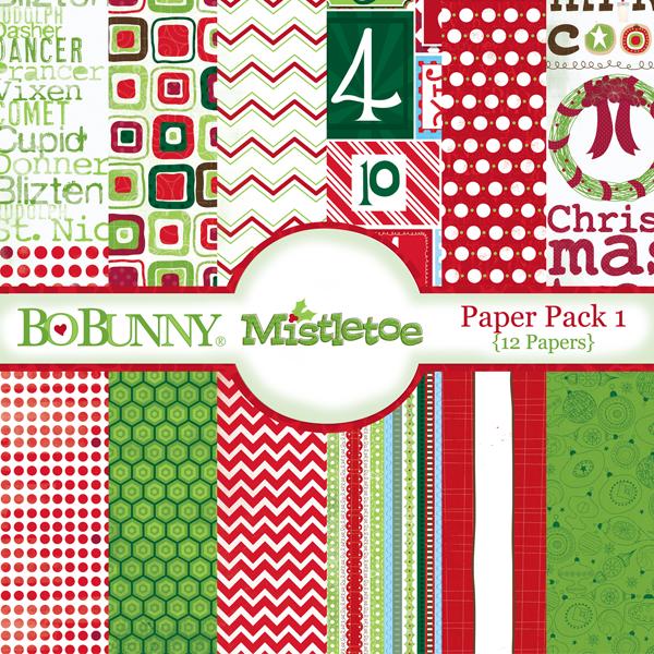 Mistletoe Paper Pack 1