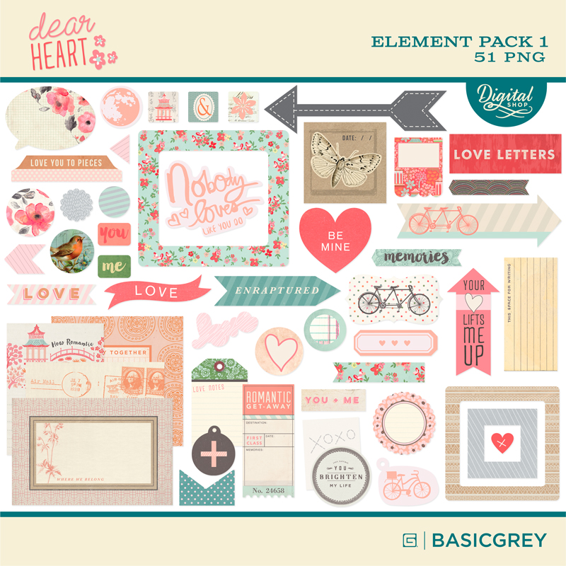 Dear Heart Element Pack 2