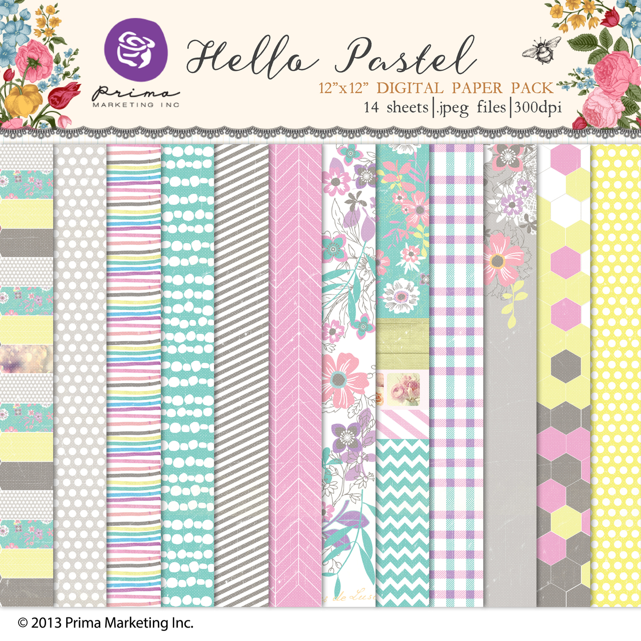 Hello Pastel Paper Pack