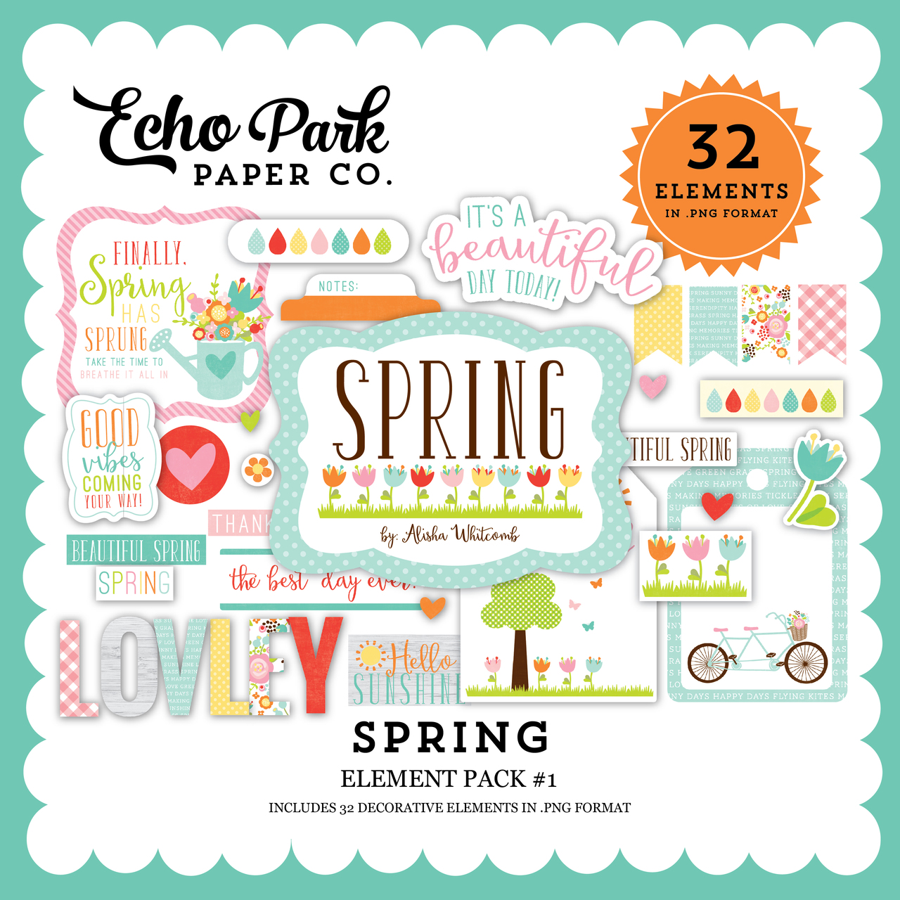 Spring Elements Pack #1