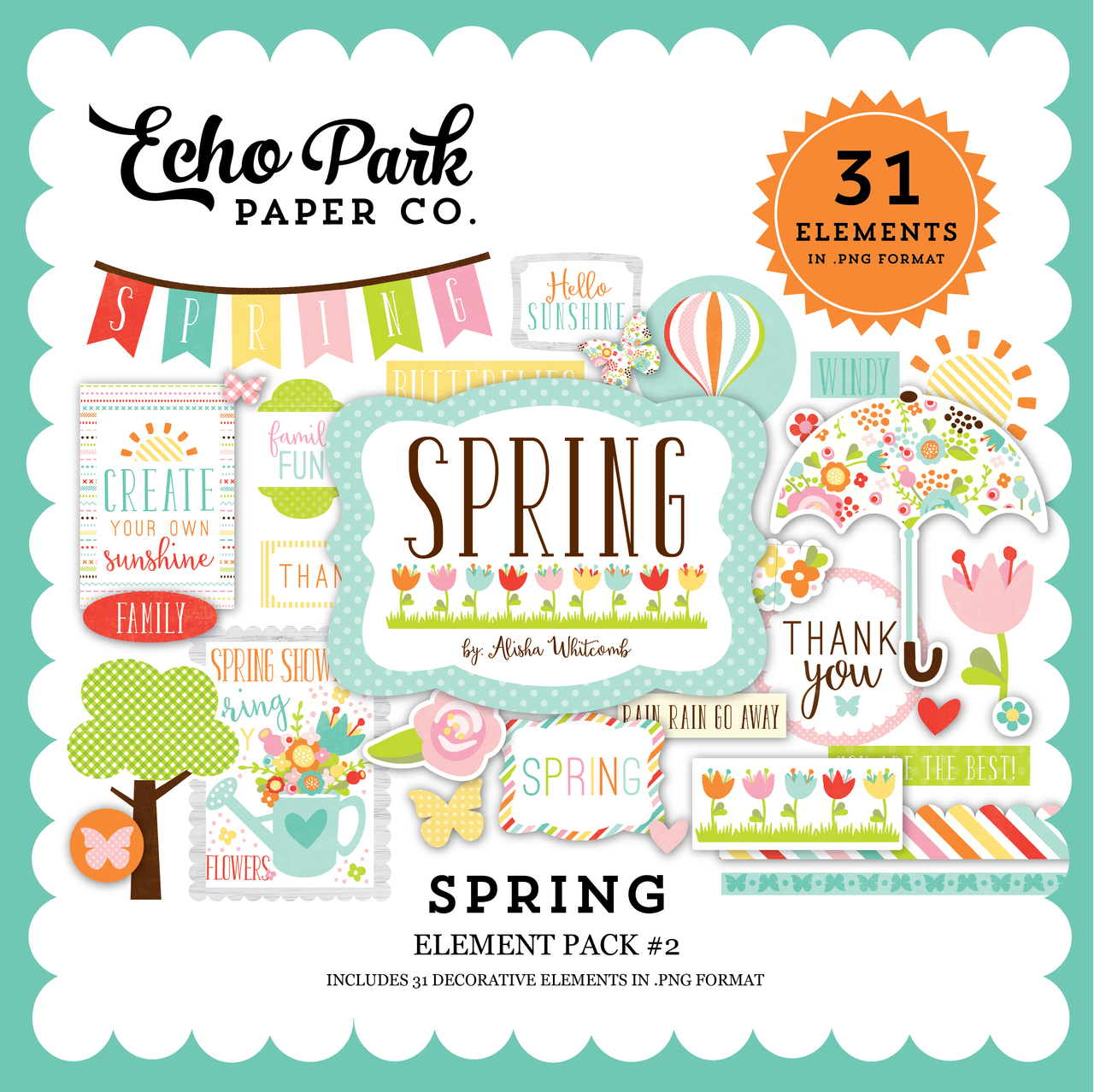 Spring Elements Pack #2