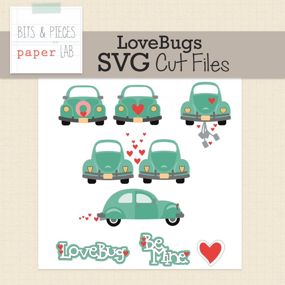 Love Bugs Cut Files