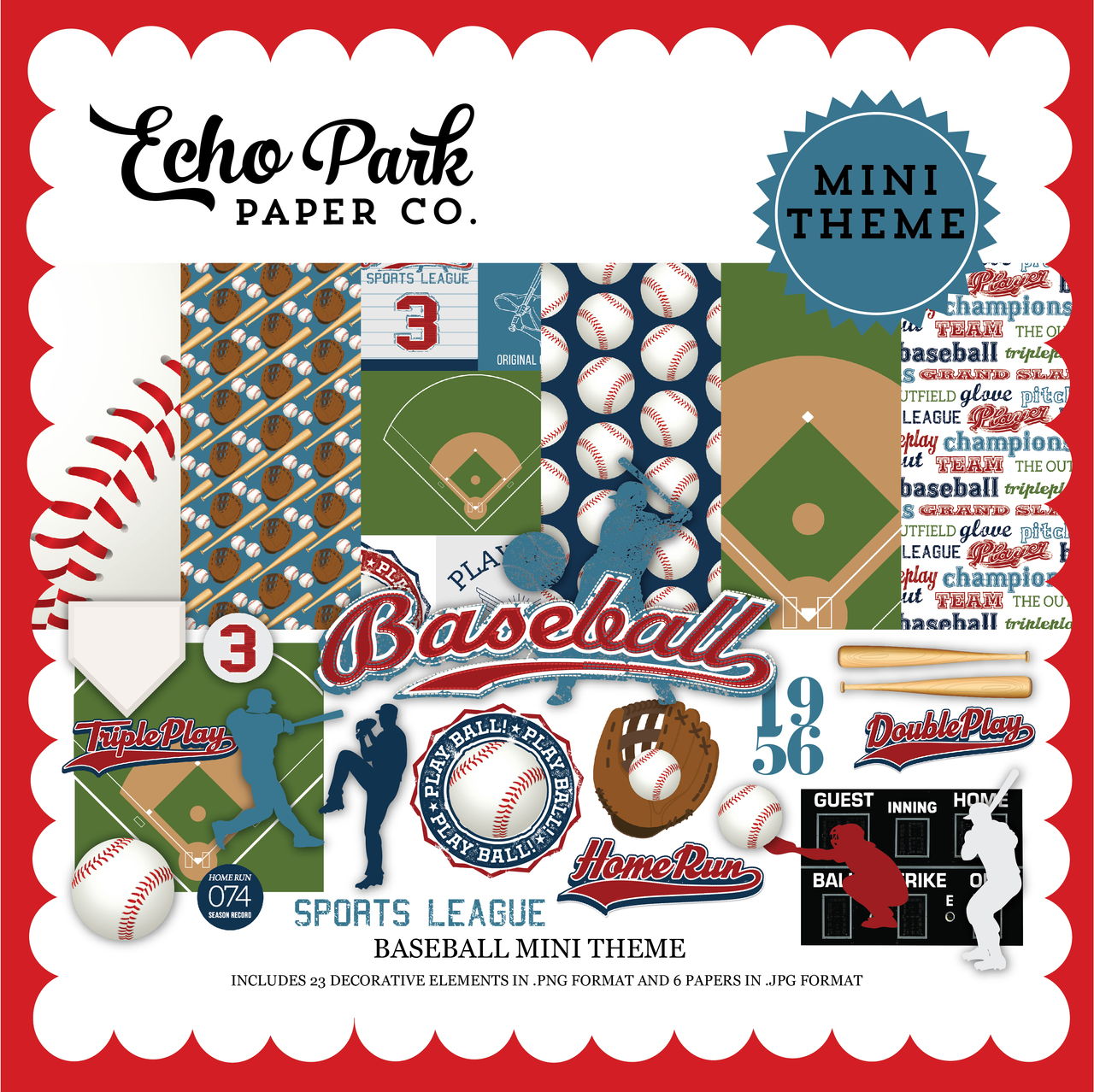 Baseball Mini Theme