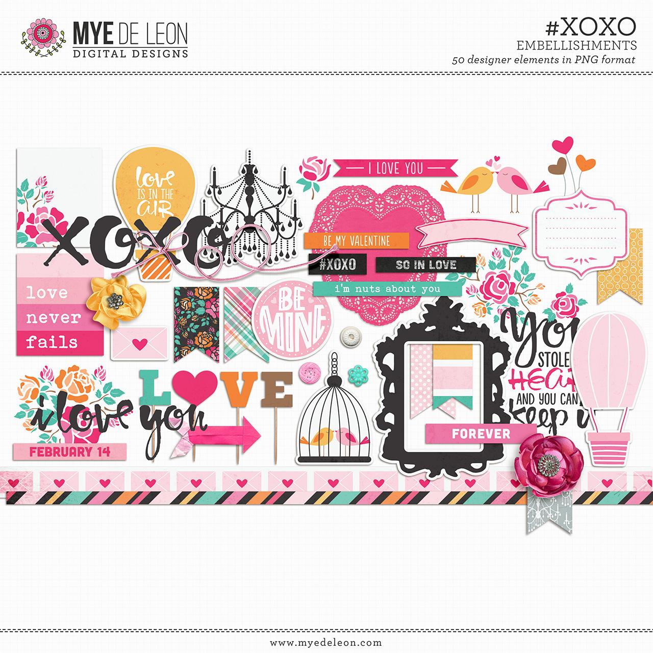 #XOXO | Element Pack