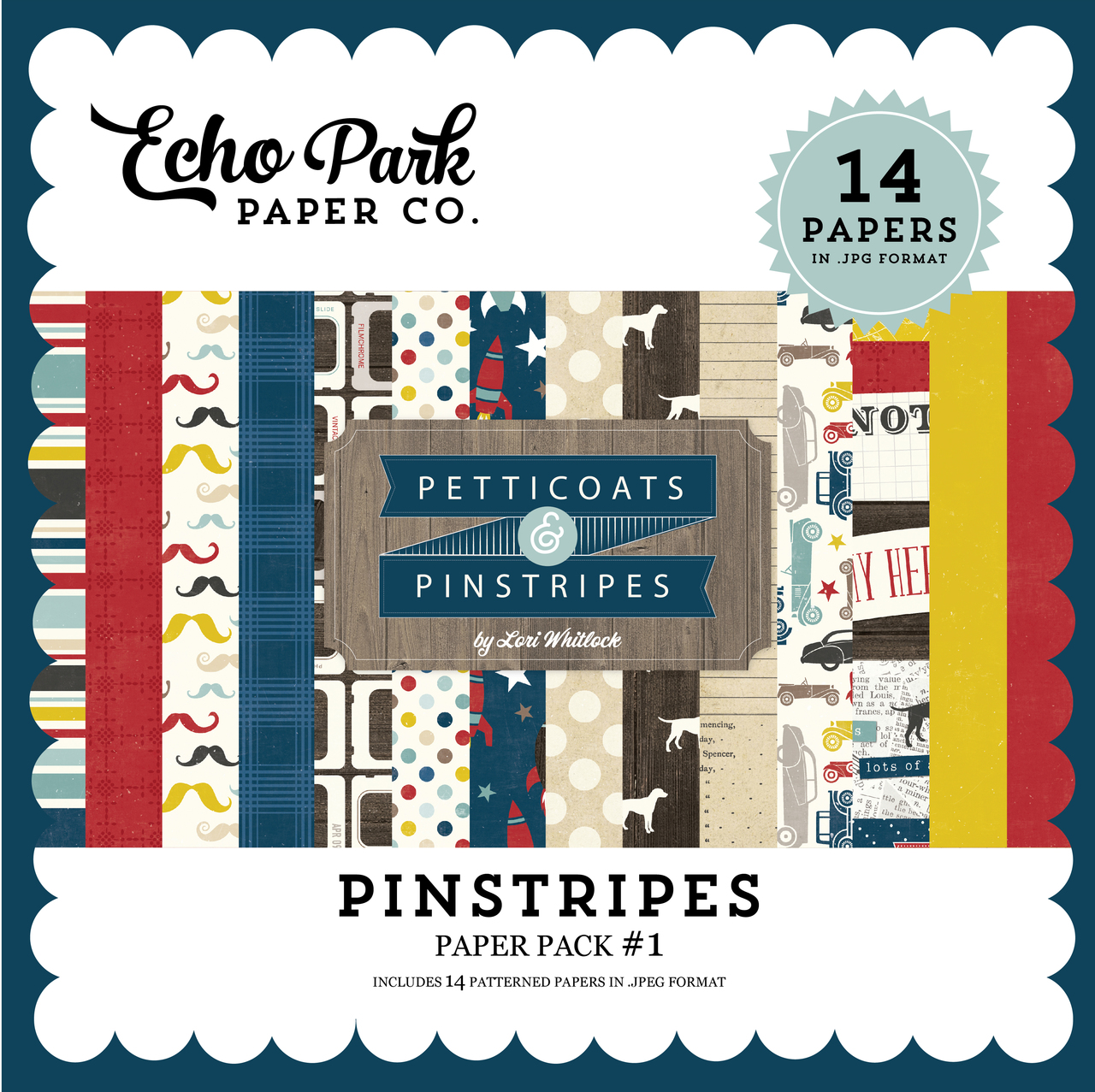 Pinstripes Paper Pack #1