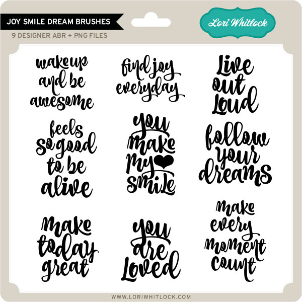 Joy Smile Dream Brushes