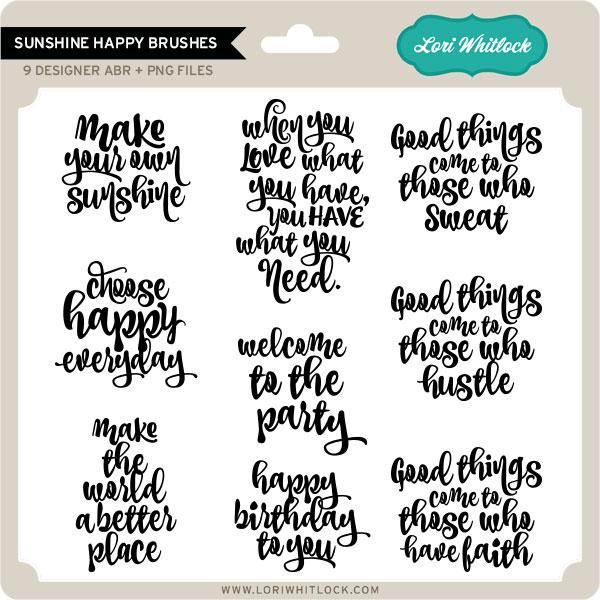 Sunshine-Happy-Brushes