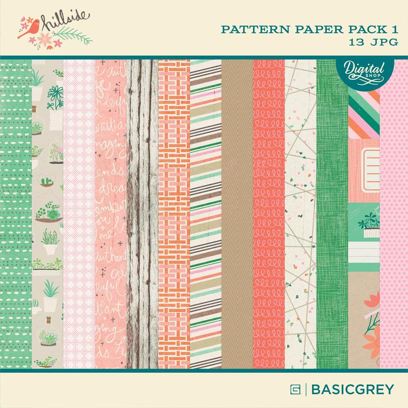 Hillside Paper Pack 1