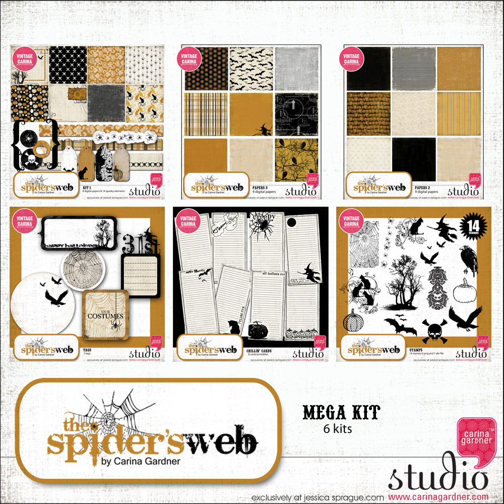 THE SPIDER'S WEB MEGA COLLECTION