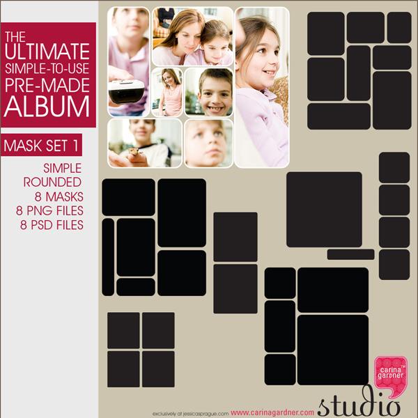 THE ULTIMATE ALBUM MASK SET V1