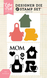 Mom Die and Stamp Set