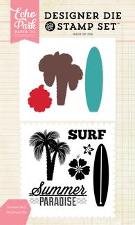 Summer Surf Die and Stamp Set
