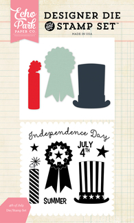 4th of July Die and Stamp Set