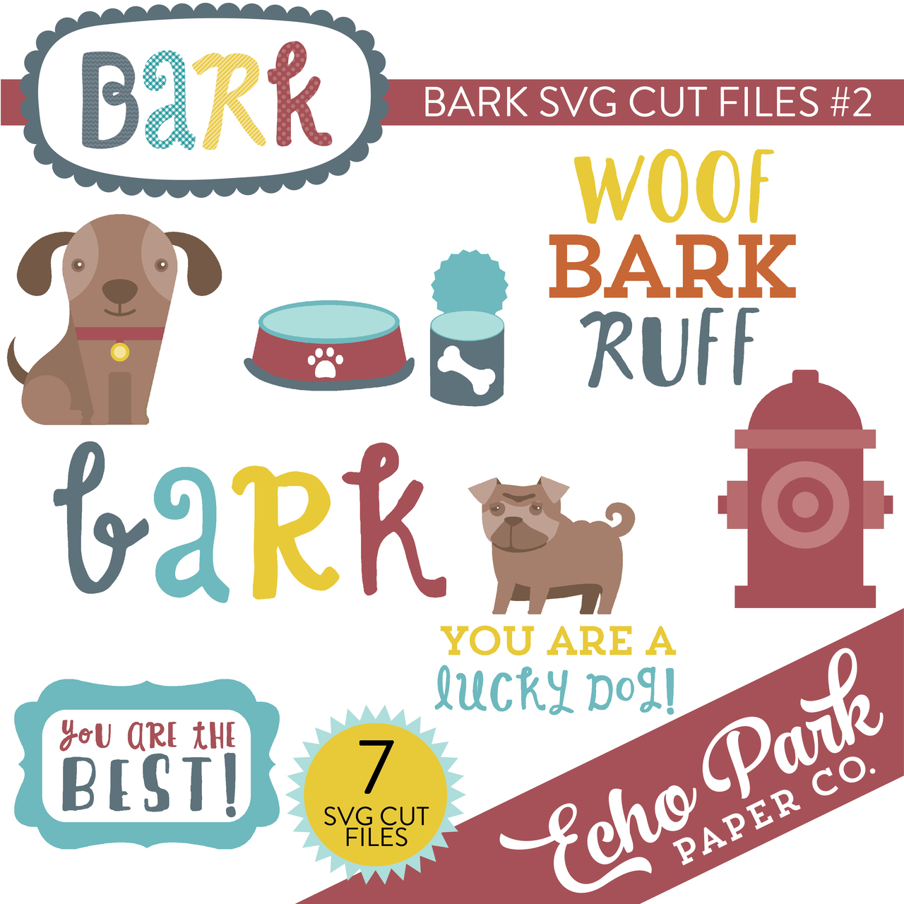 Bark SVG Cut Files #2