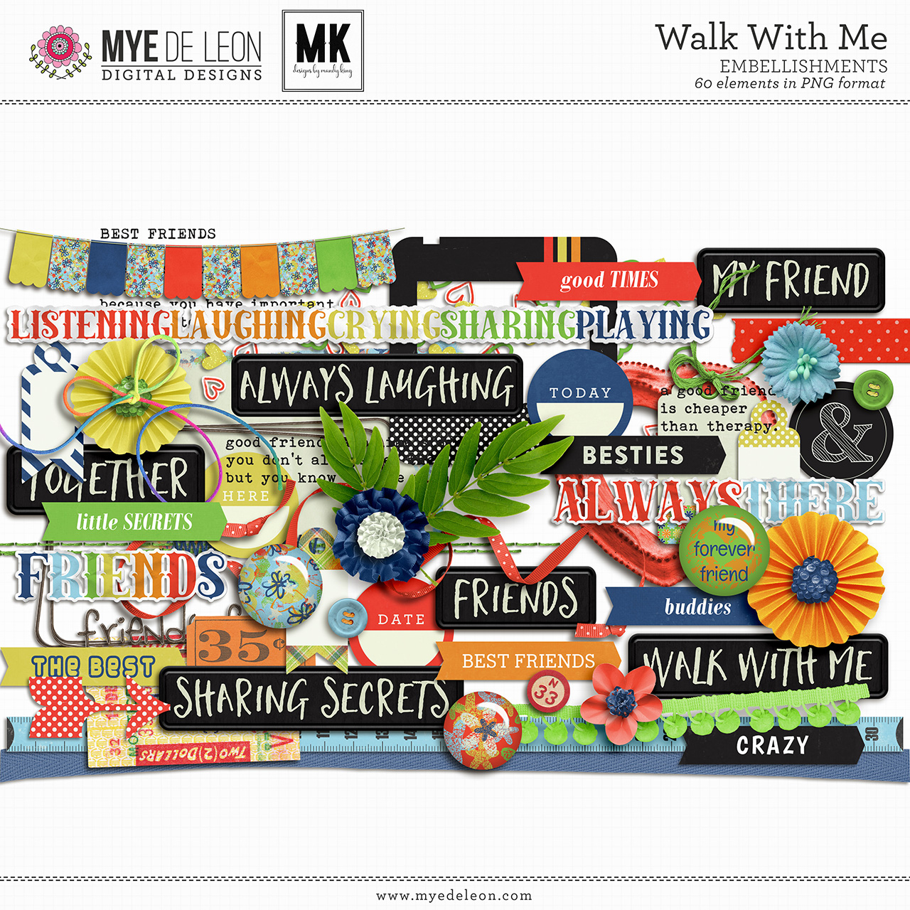 Walk With Me | Complete Kit