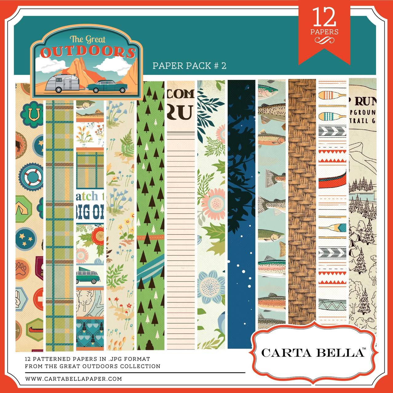 The Great Outdoors Paper Pack #2