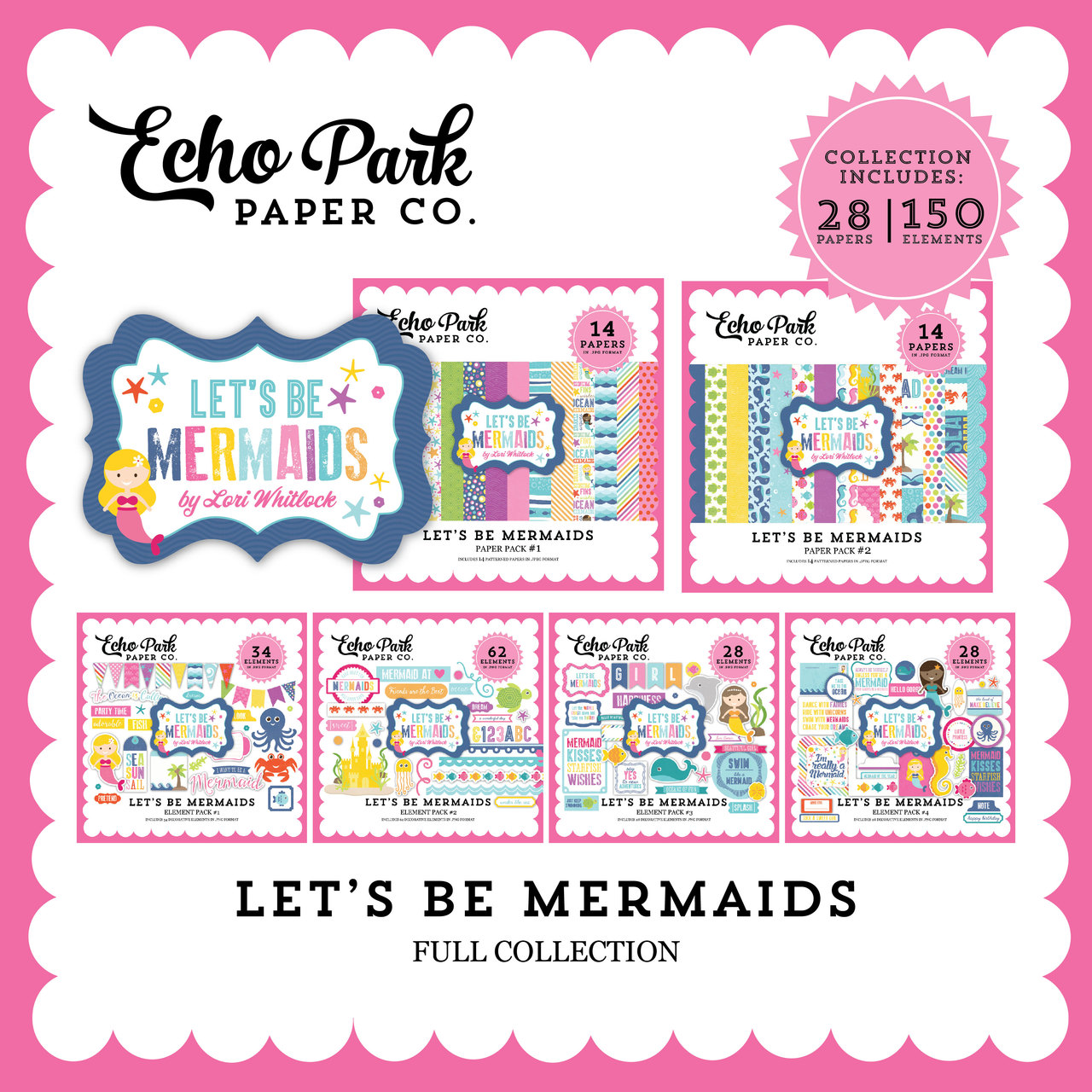Let's Be Mermaid Mega Collection