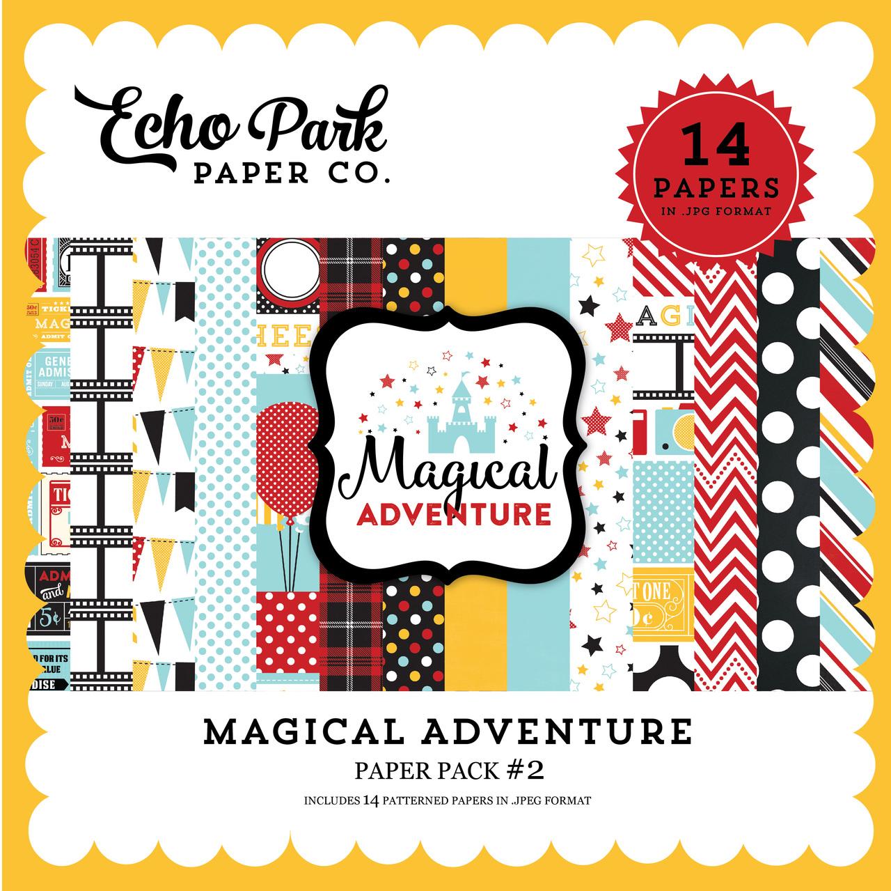 Magical Adventure Paper Pack #2